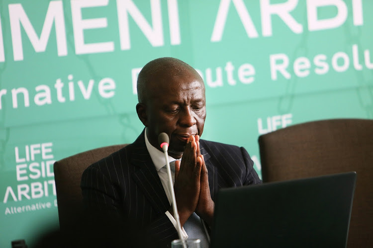 Esidemi hearings leader Judge Moseneke must now appear in court