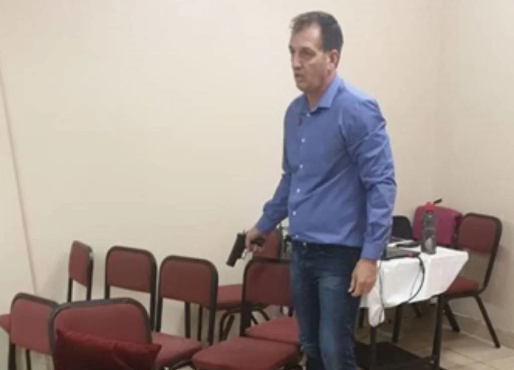 Church shooting: Pieter van der Westhuizen returned fire to protect others, says lawyer