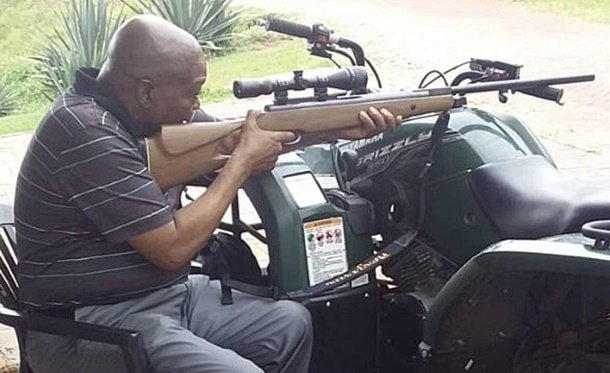 Zuma rifle picture: Are there any legal ramifications?